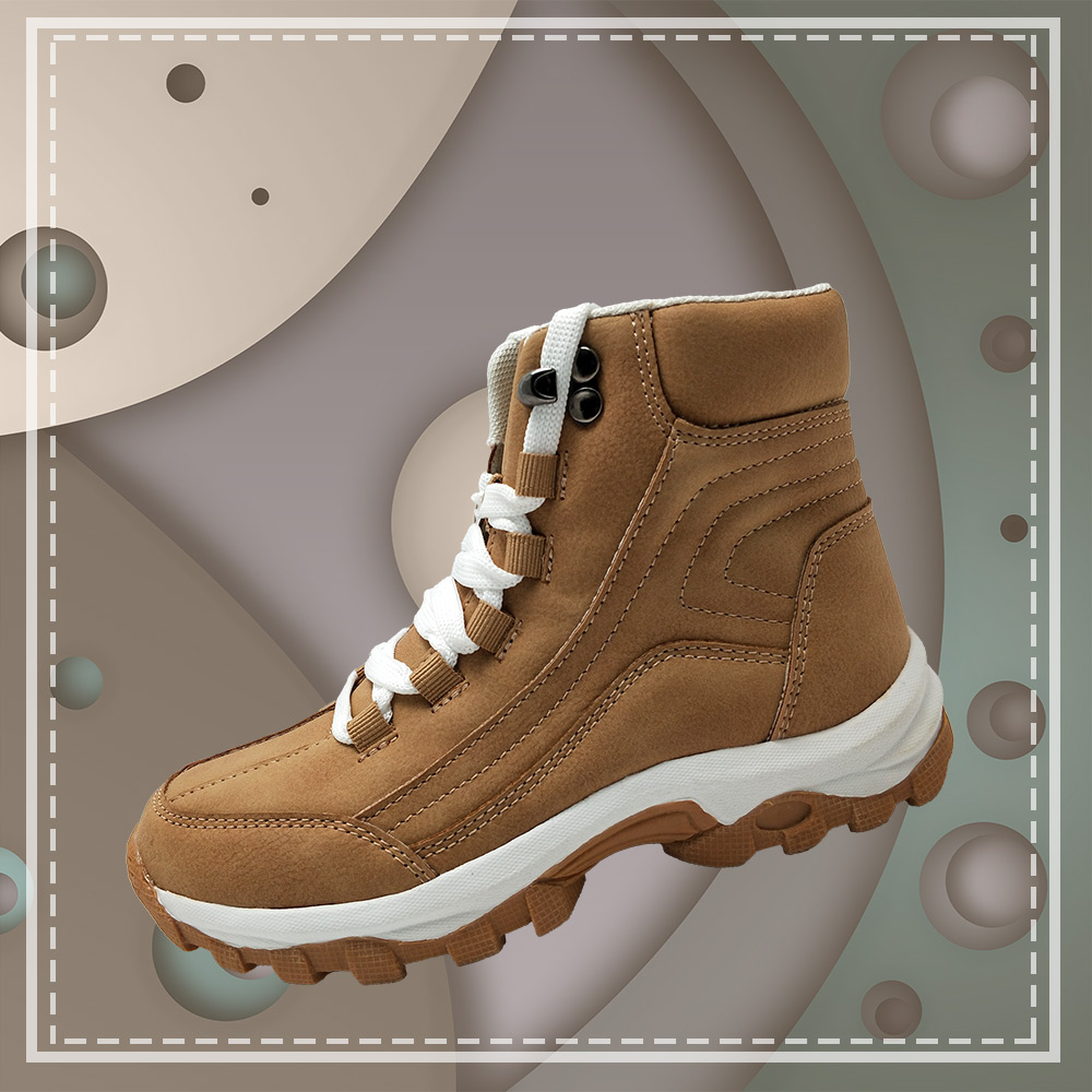 Winter high-top outdoor waterproof shoes
