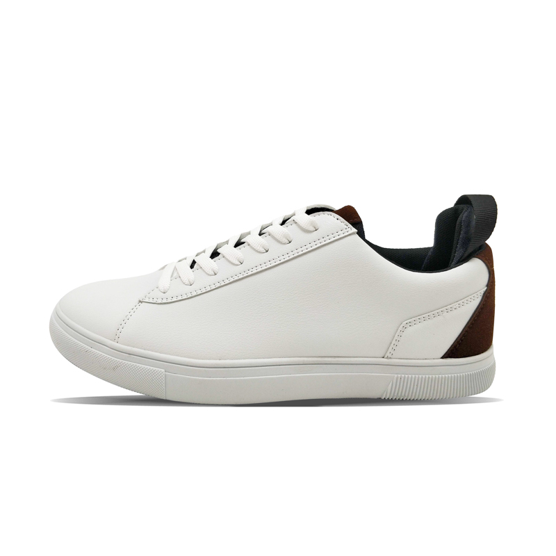 White men's simple business casual board shoes