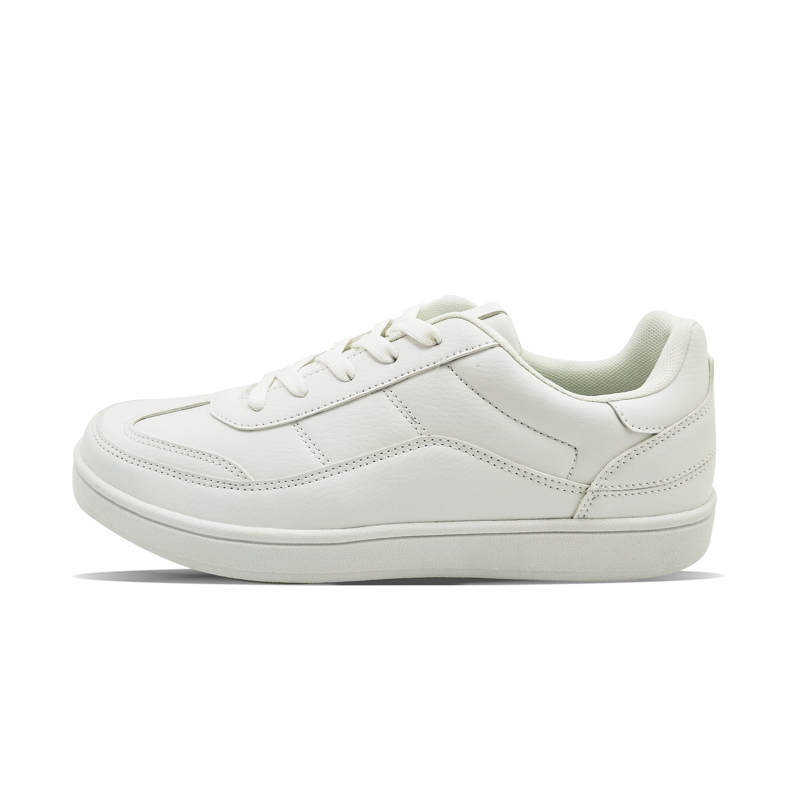 Fine stitching comfortable folding easily pure white casual men's versatile shoes