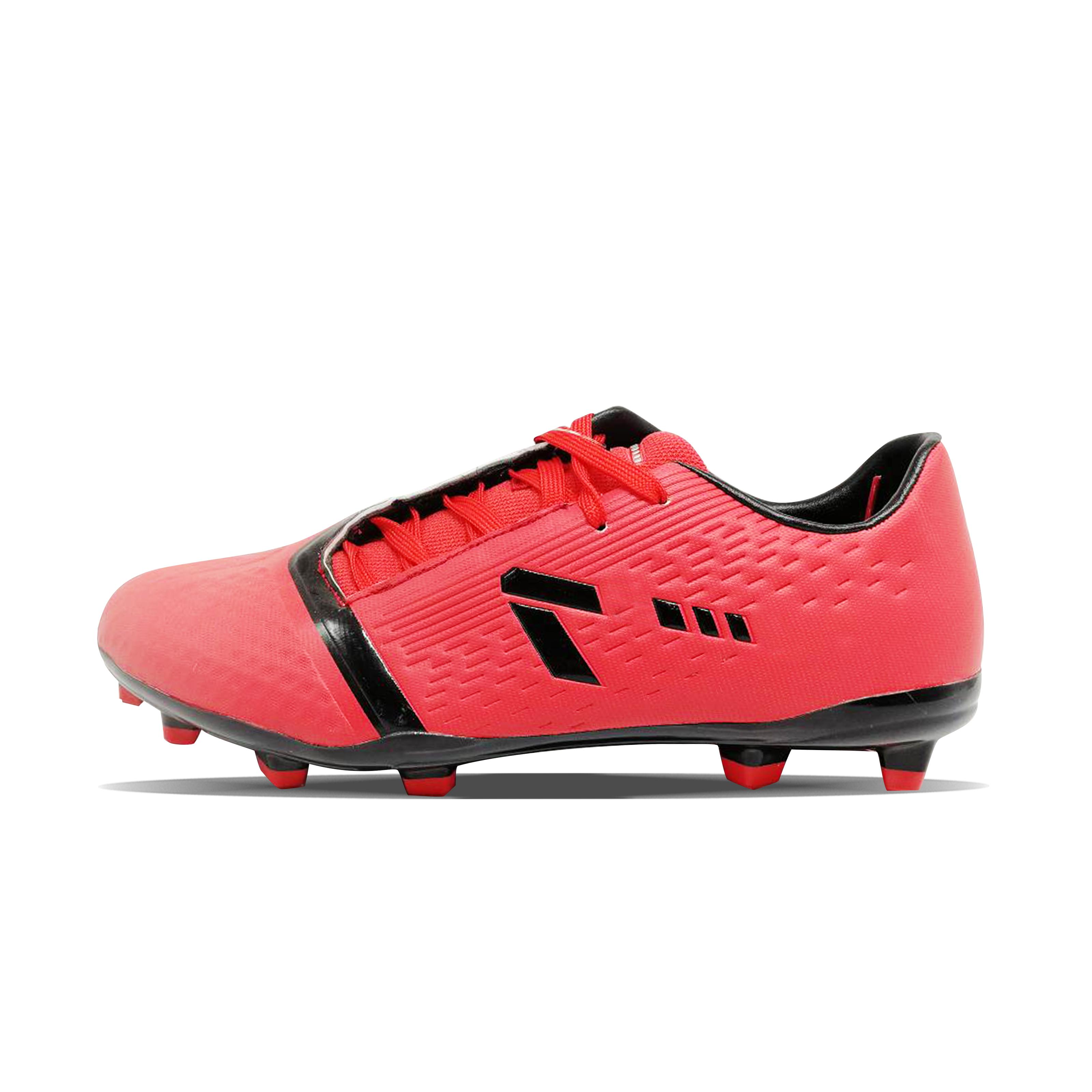 Red gomma outole logo personalizzato calcio maschile s scarpe