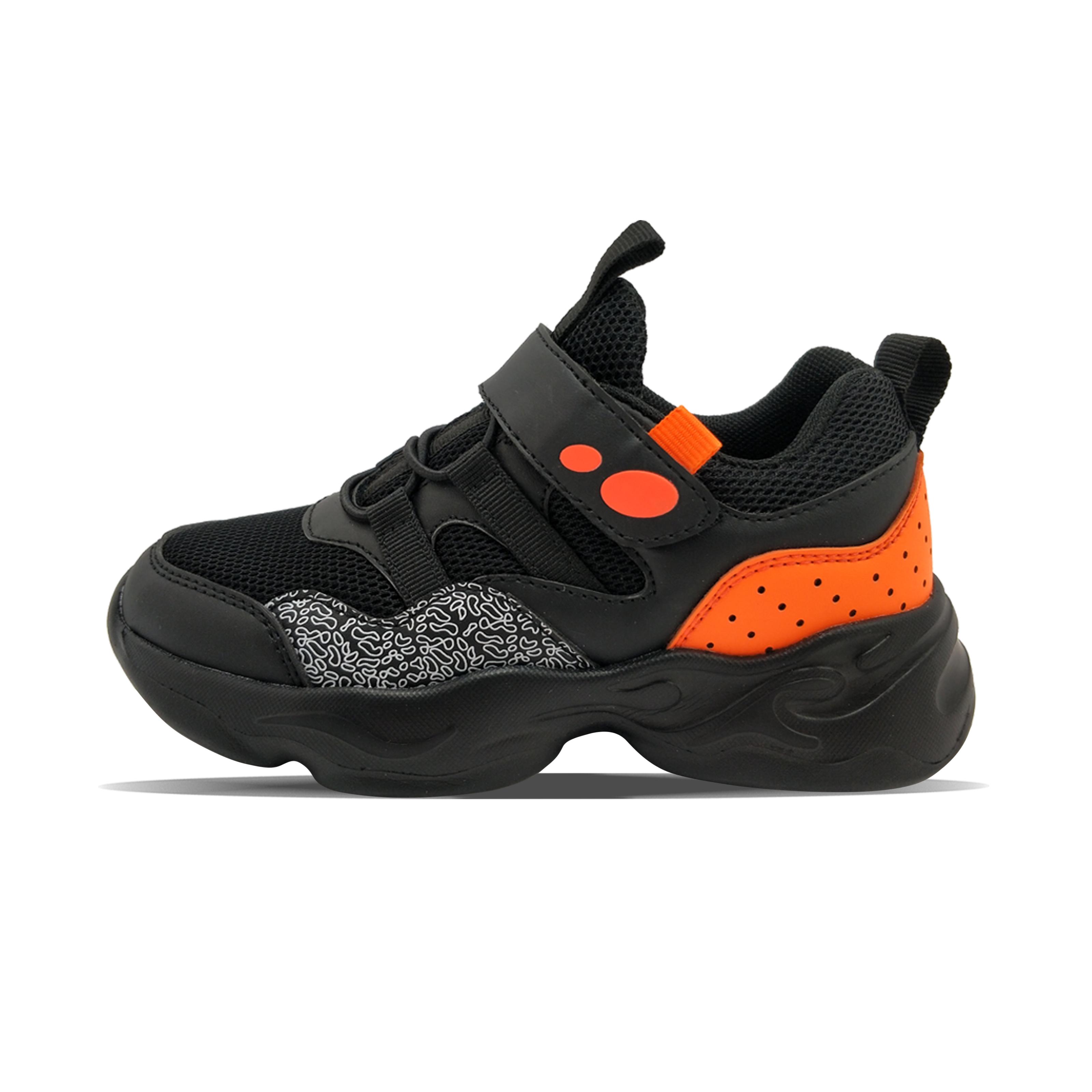 Black boy's totem cool sports shoes