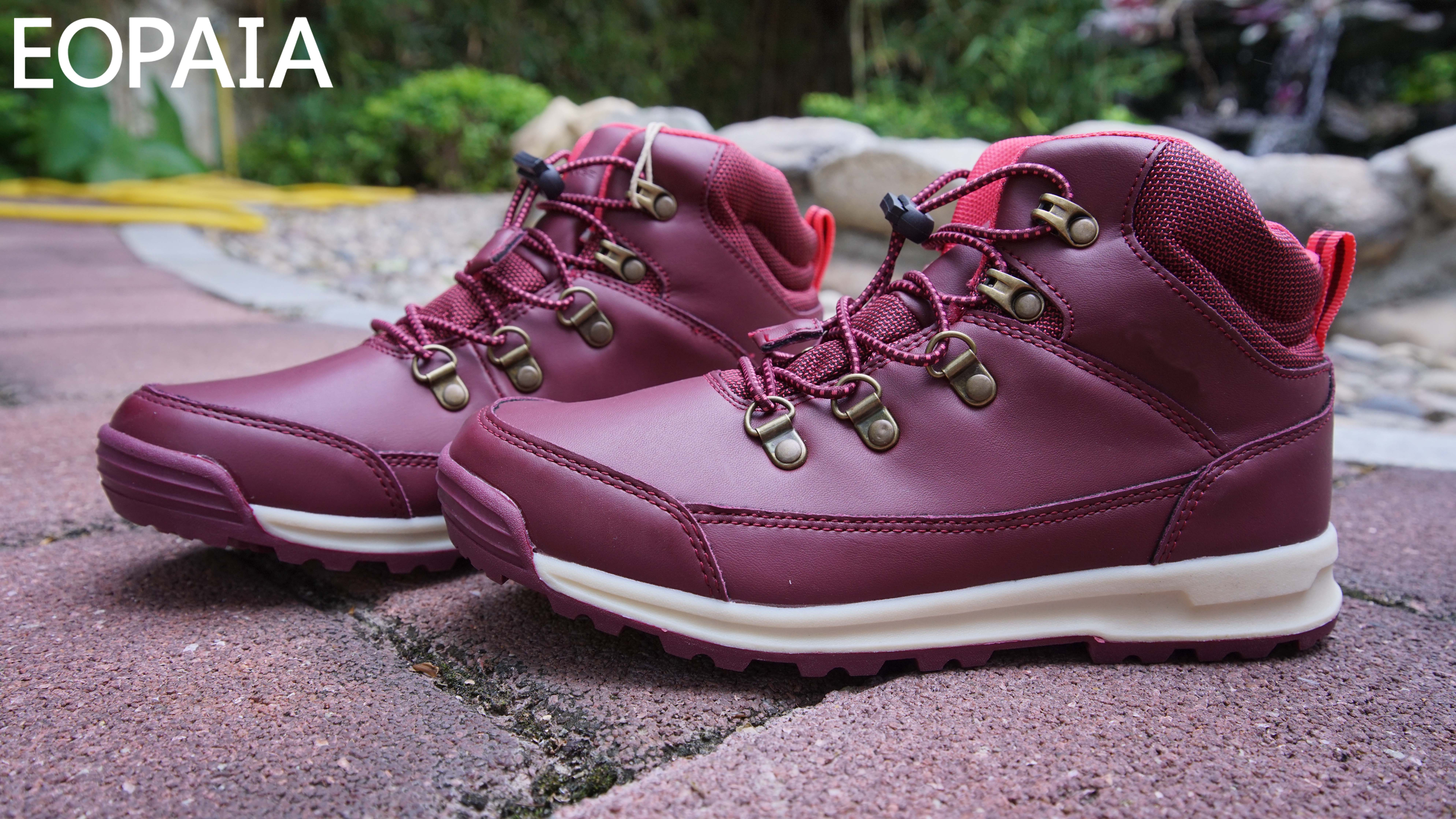 Rose Red Women's Low top Alpinist shoes supplier