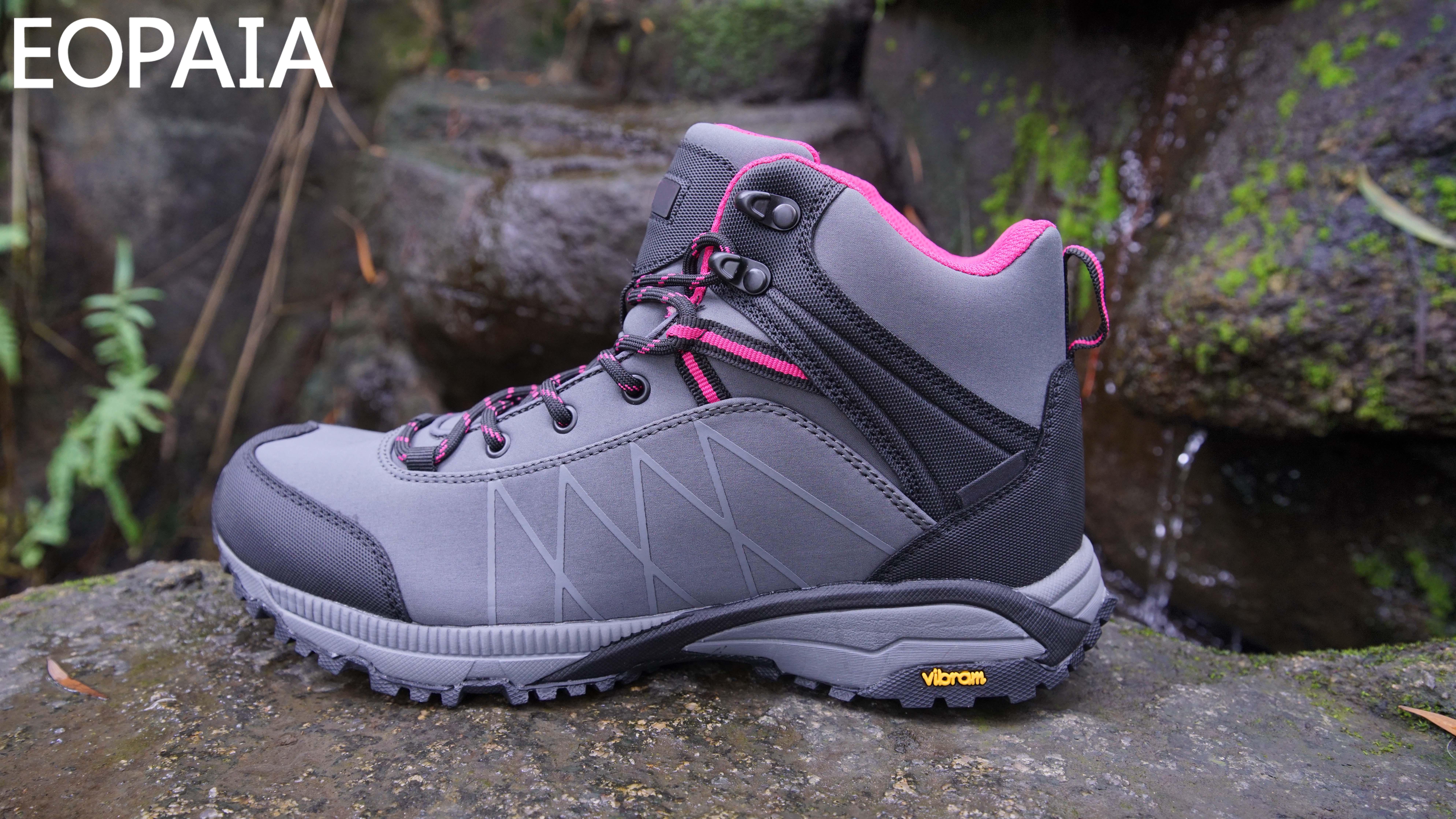 Semelle extérieure en caoutchouc antidérapante chaussures d'alpinisme pour femmes