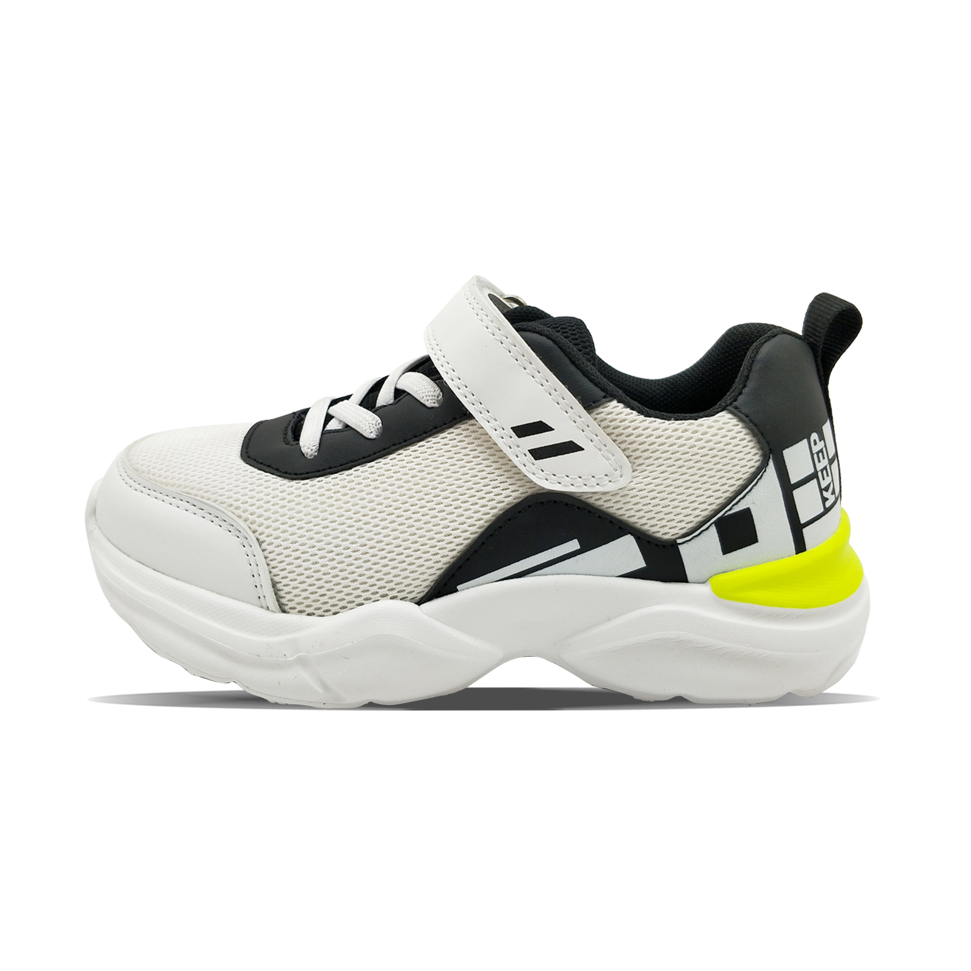 mesh PU graffiti style boy's casual shoes