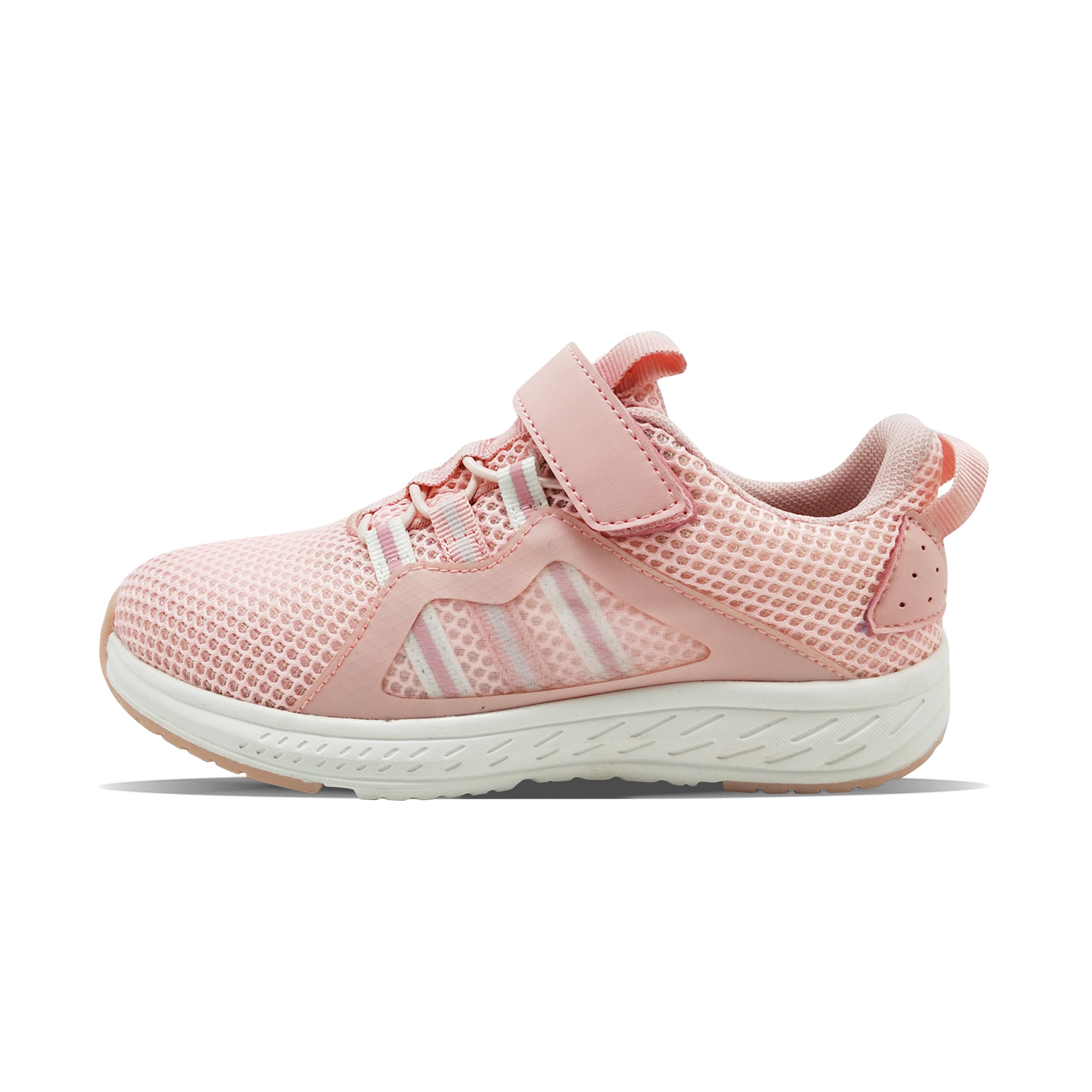 Ragazza s Pink Blue magic tape heel print press PU mesh TPU scarpe sportive